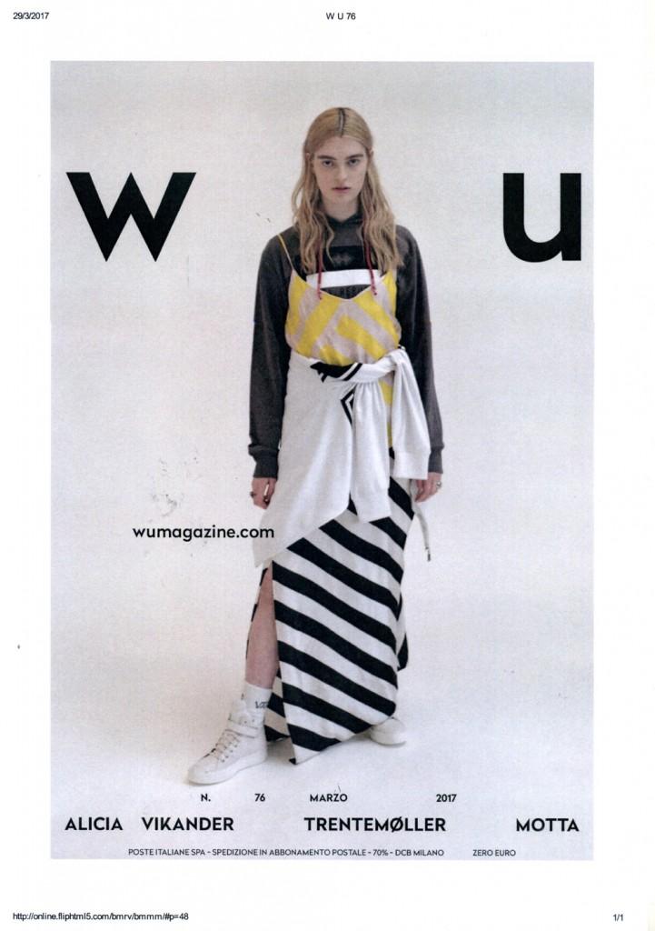 Wu Magazine Marzo 2017