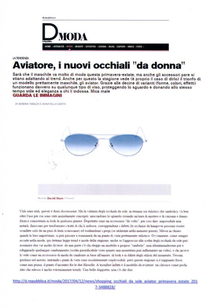 www.d.repubblica.it 12 Aprile 2017